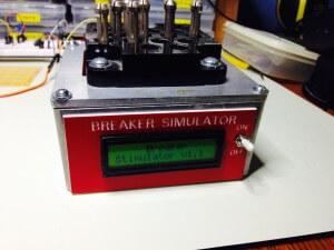 Arduino Circuit Breaker Simlulator