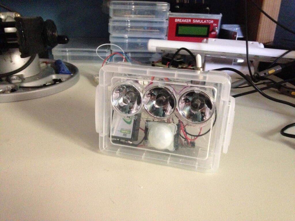 Arduino Laser Tag Land Mine